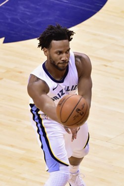 Wayne Selden soaked up a lot of minutes last night, and shot well. - LARRY KUZNIEWSKI
