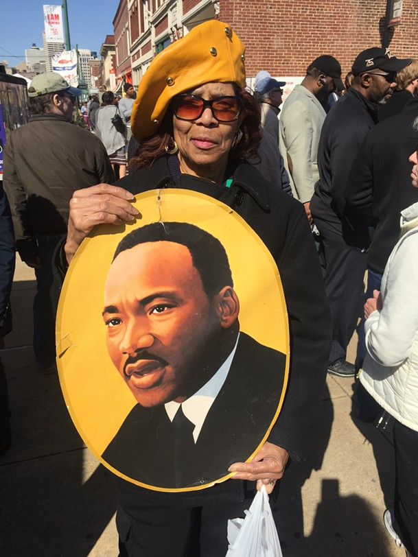 Carolyn Hill at Dr. Martin Luther King Jr.  50th anniversary - MICHAEL DONAHUE