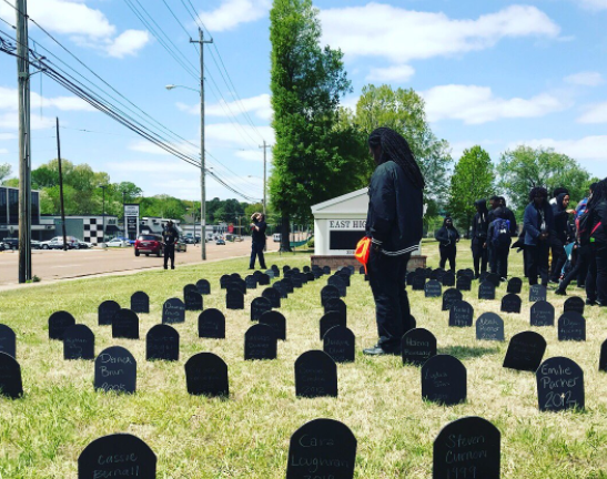 Scenes from Memphis Students' Rally Against Gun Violence | Memphis Flyer