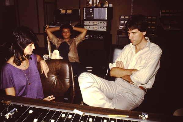 Jerene Sykes, Keith Sykes, Joe Hardy at Ardent in the 1970s. - COURTESY JERENE AND KEITH SYKES