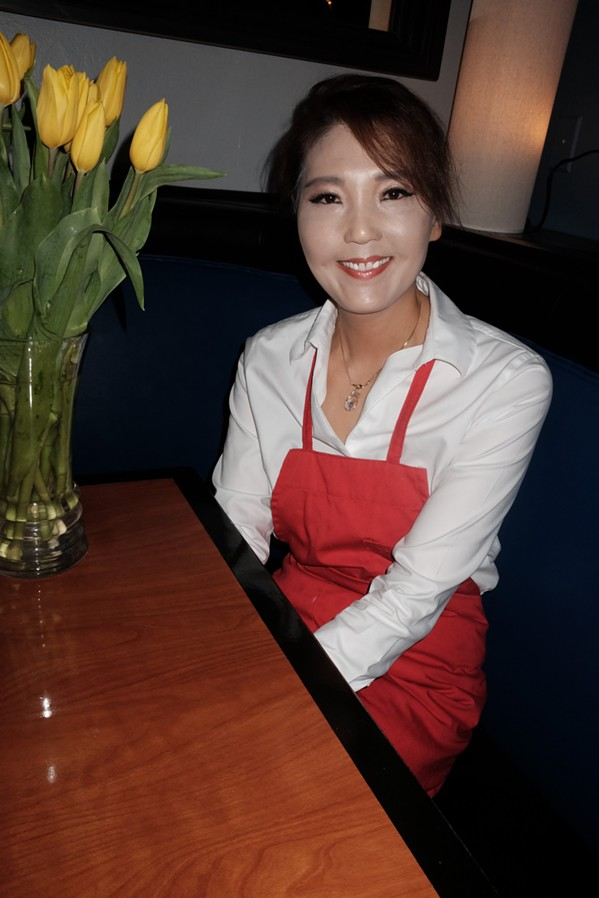Ja Min Lee is executive chef at Bluefin restaurant. - MICHAEL DONAHUE
