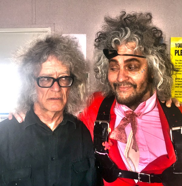 So, who wins the BEST HAIR AWARD at Beale Street Music Festival? Me or Wayne Coyne of The Flaming Lips? I choose Coyne. Hands down. Or hair down. - JAKE INGALLS