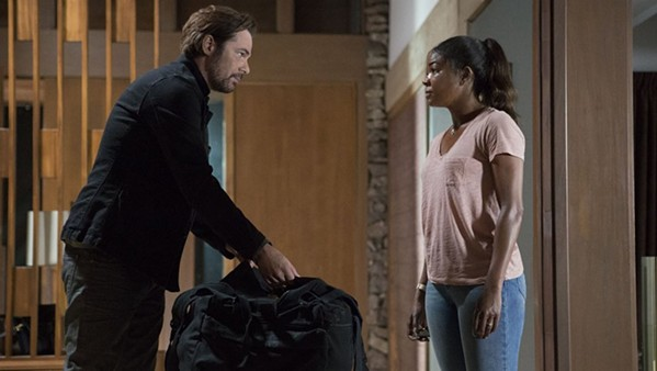 Billy Burke and Gabrielle Union face off in Breaking In.