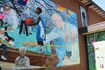 Mural by 2011 Mural Training Program participant Jason Miller - URBANARTS COMMISSION
