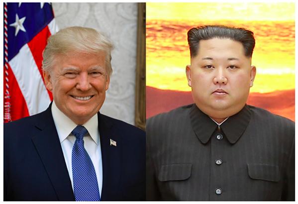 Trump, Kim - WHITE HOUSE/WIKIPEDIA