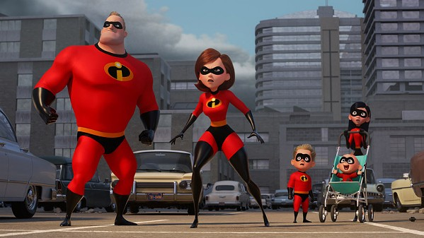 Mr. Incredible, Elastigirl, Dash, Violet, and Jack-Jack are back after a 14 year hiatus.
