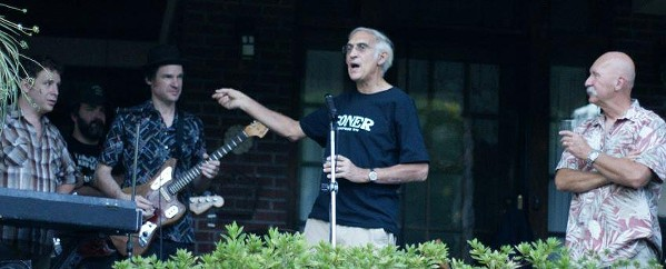 Robert Jethro Wyatt and Moke O'Connor introduce Jack O & the Tennessee Tearjerkers, Sept 2012.