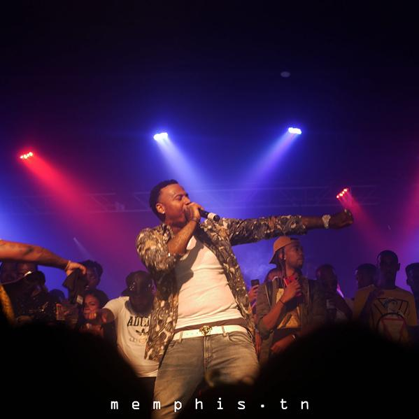 Moneybagg Yo at Minglewood Hall - TRAVIS WHITESIDE