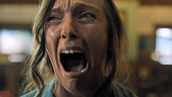 Toni Collette screams real good.