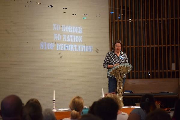 Emily Fulmer of Indivisible Memphis - FACEBOOK- JORDAN HOWARD