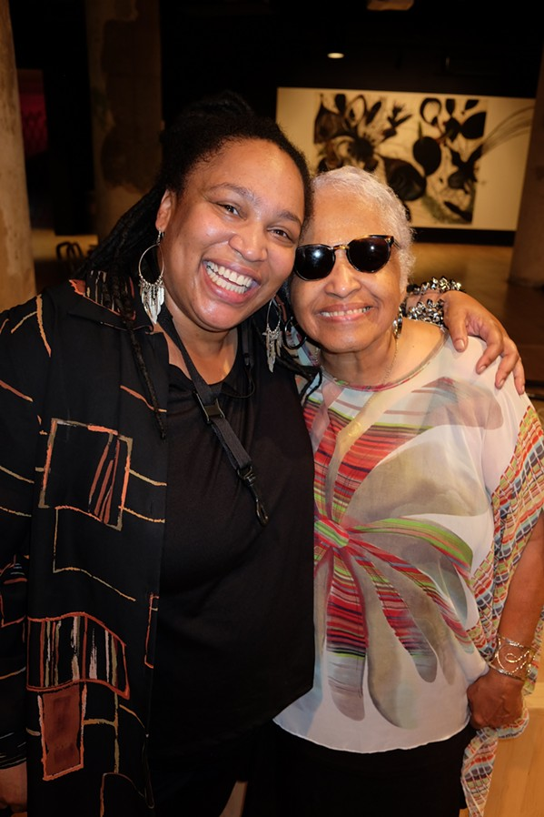 Hope Clayburn and Joyce Cobb performed at the Deborah Cunningham Access Awards - MICHAEL DONAHUE