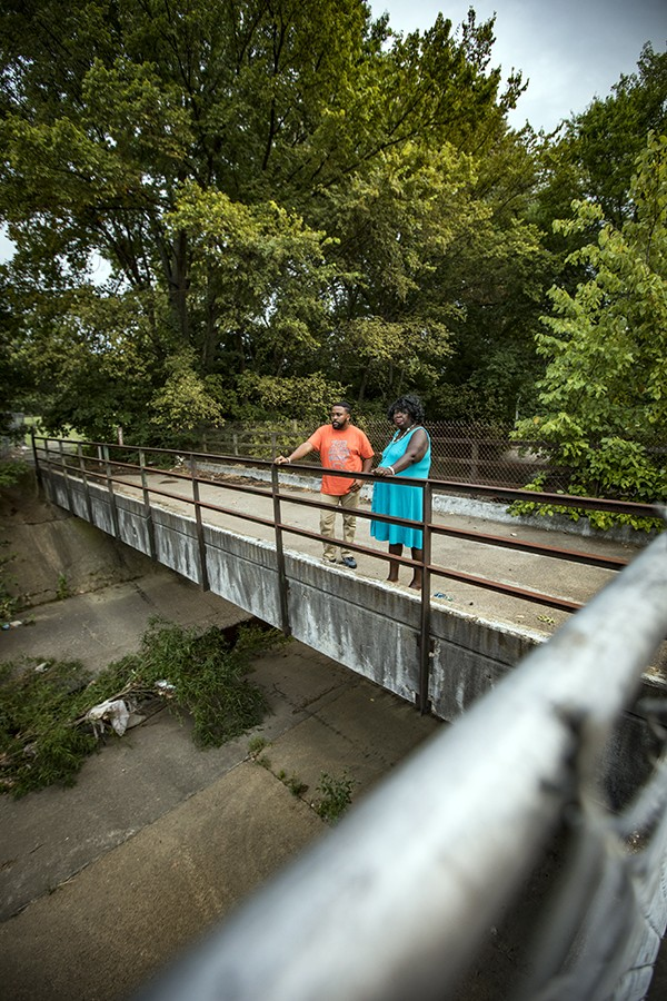 Activists note that Cane Creek is fed by 21 separate streams from the Memphis Depot area. In some areas, they've succeeded in having fences put up to keep children out.