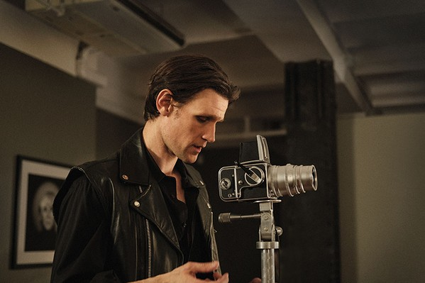 Matt Smith as Robert Mapplethorpe in Ondi Timor's biopic.