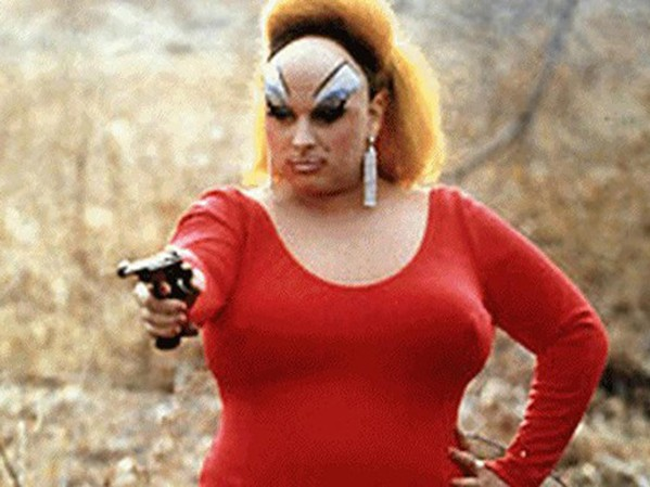 Divine goes on a fabulous crime spree in Pink Flamingos