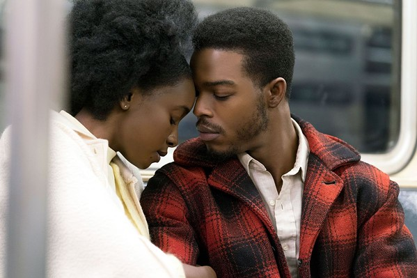Kiki Lane and Stephan James in If Beale Street Could Talk