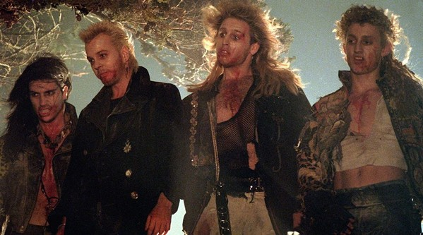 The Lost Boys leads off the Shocktober Time Warp Drive-In