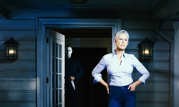 Jamie Lee Curtis returns as the original Final Girl Laurie Strode in David Gordon Green's new Halloween sequel.