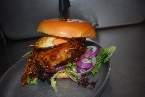 Great Smokey Mountain Burger