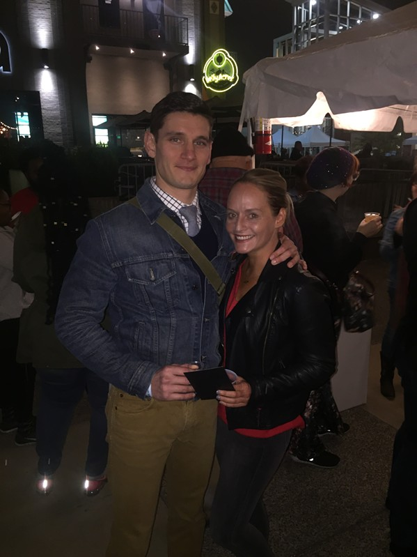 Grady Ferguson and Crystal Brown at Memphis Tequila Festival - MICHAEL DONAHUE