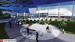 The proposed youth sports complex. - CITY OF MEMPHIS