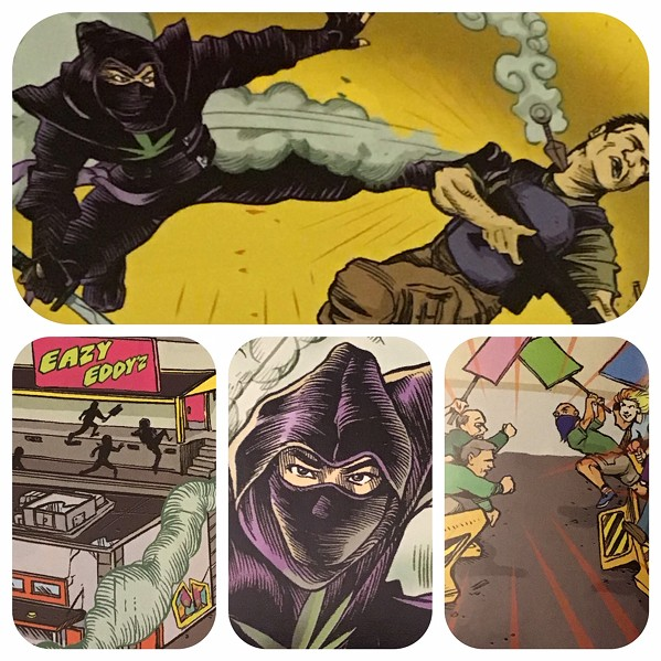 Samples from Stoned Ninja