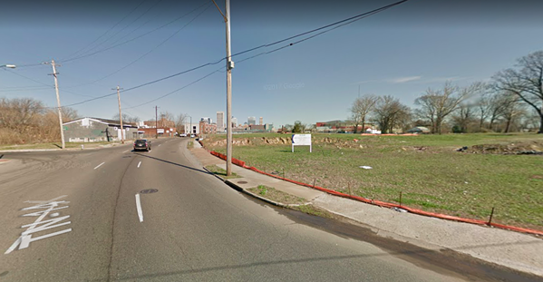 B.B. King north of Vance looking toward Downtown. - GOOGLE MAPS