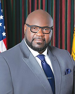Council chairman Berlin Boyd
