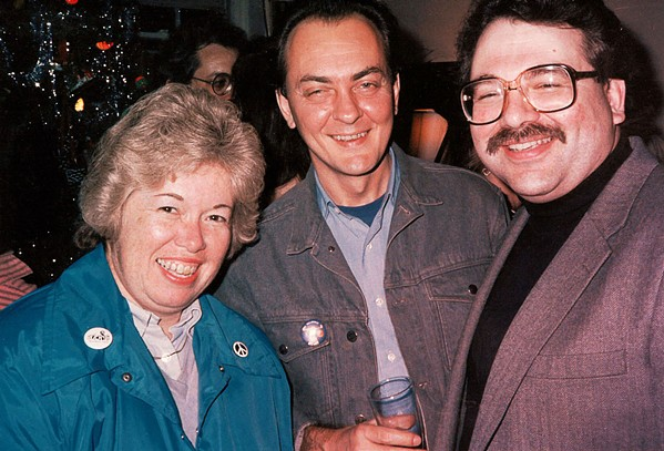 "Jon W. Sparks, my colleague and another long-time friend, attended ""A Christmas Party."" He was with Carol Sheehan and Tom Walter."
