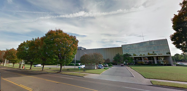 The Commercial Appeal office building at 495 Union. - GOOGLE MAPS