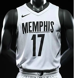 A recent Grizzlies MLK Day uniform