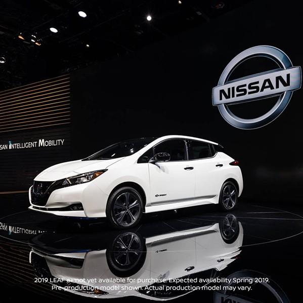 The 2019 Nissan Leaf. - NISSAN ELECTRIC/FACEBOOK