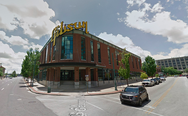 The now-vacant Gibson factory will be the new home for FedEx Logistics. - GOOGLE MAPS