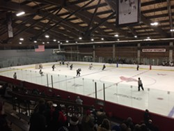 Hockey in its purest form: Wesleyan vs. Trinity