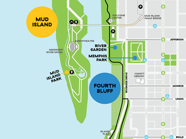 Map of the Fourth Bluff - THE FOURTH BLUFF