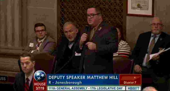 "Tennessee legislators debate ""Heartbeat Bill"""