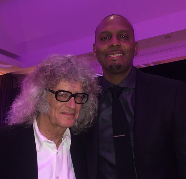 Penny Hardaway was the honorary chair of the FedExFamiliyHouse Gala. I was the reporter. - MICHAEL DONAHUE