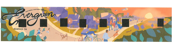 An artist's rendering of the mural. - MEMPHIS COLLEGE OF ARTS