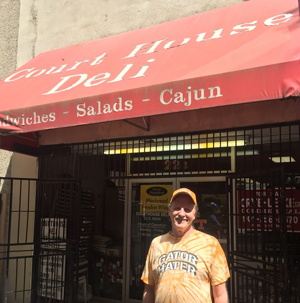 Owner Brad Peden closed his Court House Deli April 30th. - MICHAEL DONAHUE