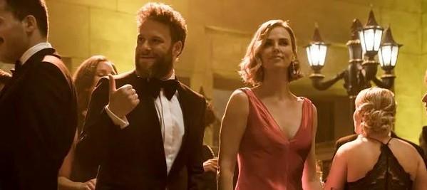 Seth Rogan and Charlize Theron in Long Shot