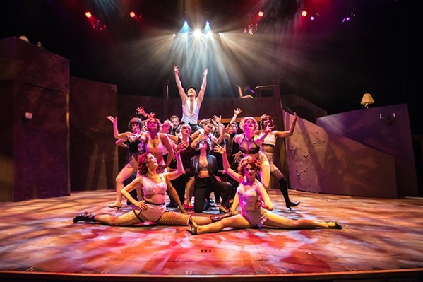The cast of Cabaret, Playhouse on the Square