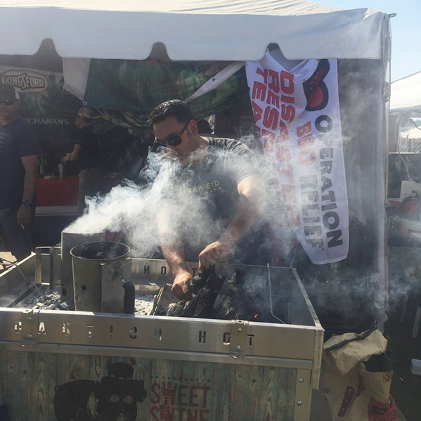 More smoking at Memphis in May World Championship Barbecue Cooking Contest - MICHAEL DONAHUE