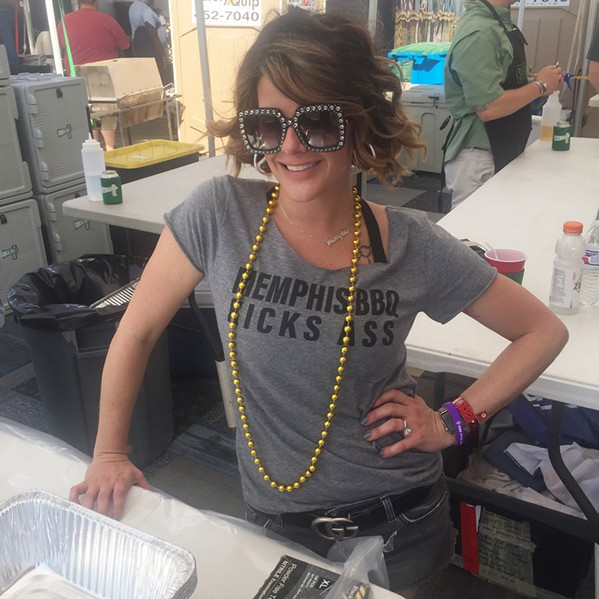 Memphis in May World Championship Barbecue Cooking Contest - MICHAEL DONAHUE