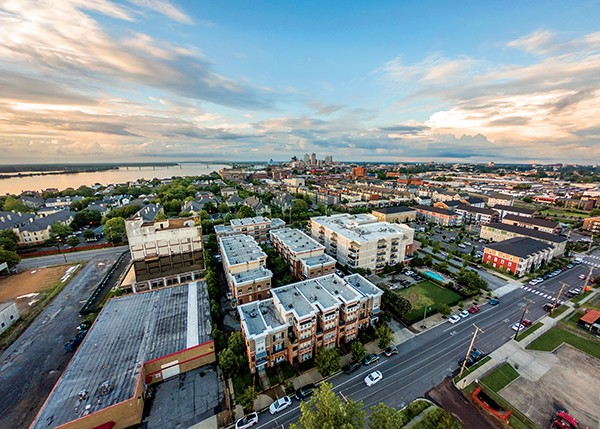 More people are choosing to live in the inner city, sending development back Downtown. - PHOTOGRAPHS BY JUSTIN FOX BURKS