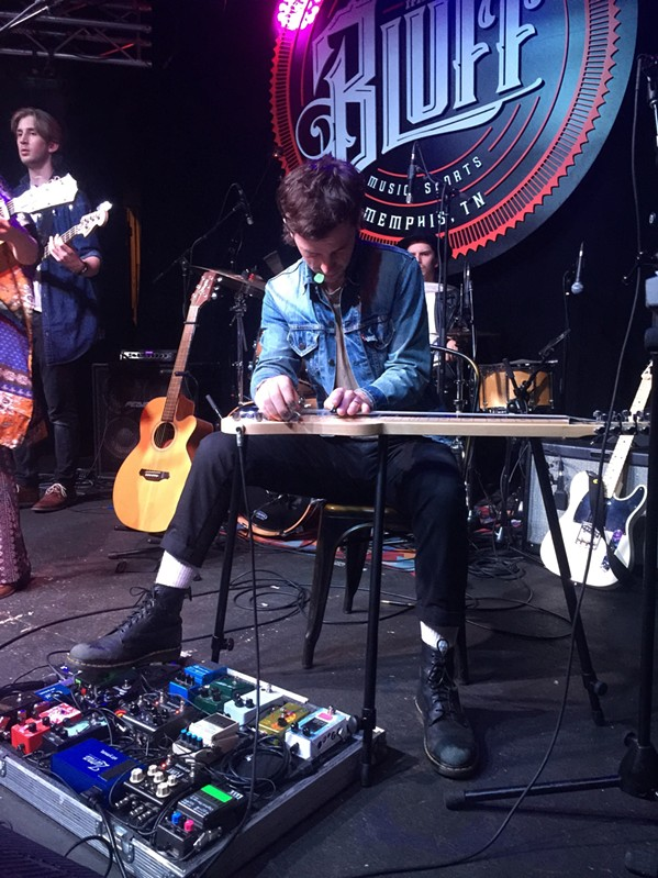 ....and then lap steel..... - MICHAEL DONAHUE