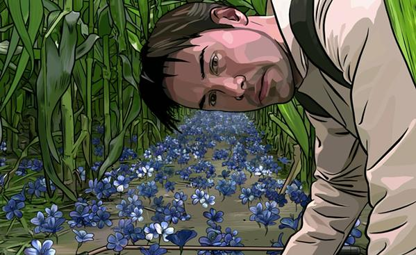 Keanu Reeves in A Scanner Darkly