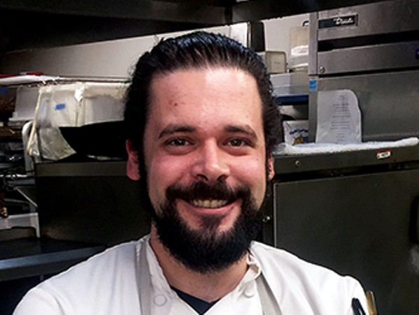 """Keith Clinton, chef de cuisine at Erling Jensen: The Restaurant, will compete on """"Guy's Grocery Games."""" - MICHAEL DONAHUE"""