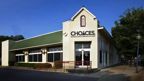 CHOICES' main clinic on Poplar - FACEBOOK/CHOICES