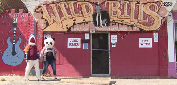"""A screen grab from Tony Manard's video """"Fool from Memphis."""" - TONY MANARD"""