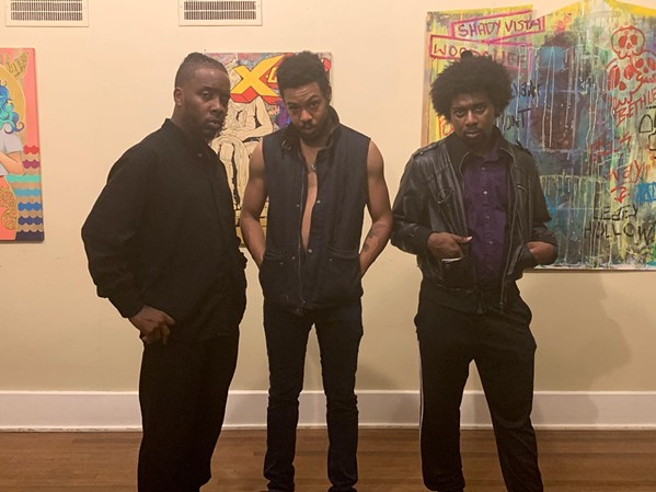 """Ricky Willis, Freddy Ledlips Hodges, and Julius Nathaniel Hunt are in """"Black August."""""""
