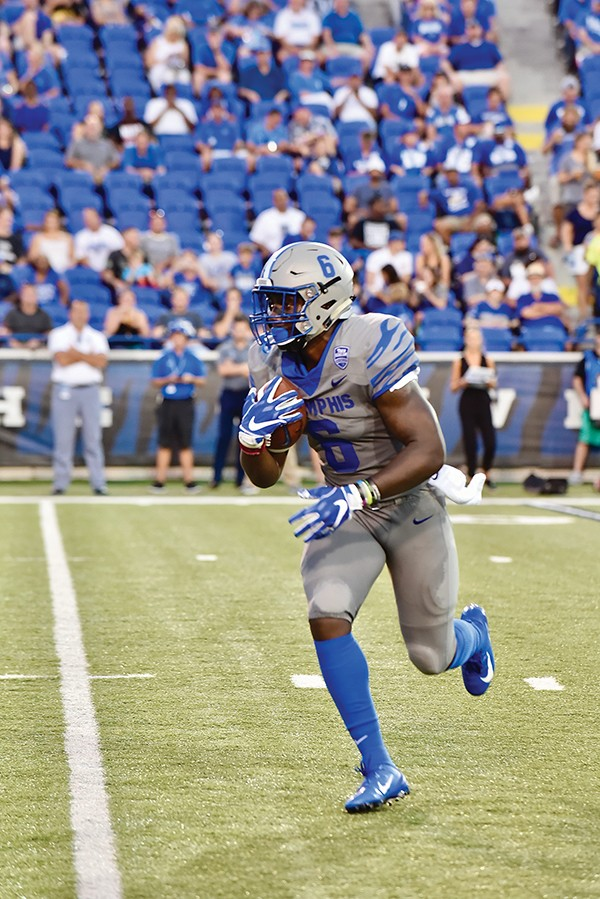 Patrick Taylor ran for 1,122 yards in 2018.